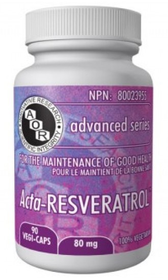 AOR Acta-Resveratrol, 90 Vegetable Capsules
