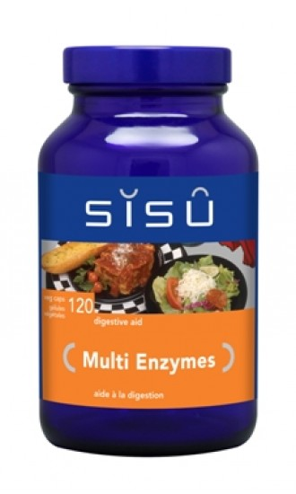 Sisu Multi Enzymes, 120 Vegetable Capsules