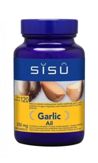 Sisu Garlic, 250mg 120 Tablets