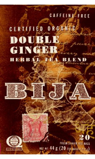 bija double ginger, 20 Tea Bags