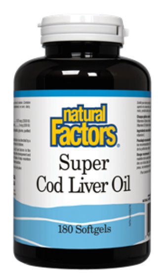 Super Cod Liver Oil, 180 Softgels