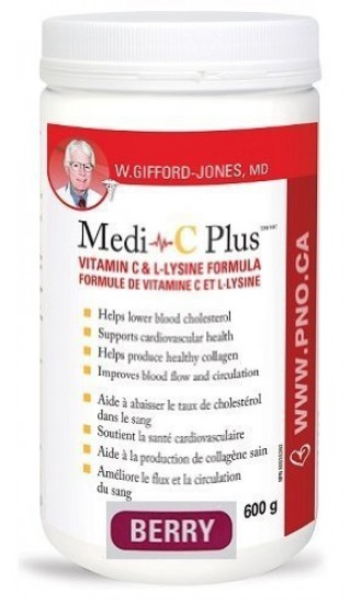 Preferred Nutrition Medi-C Plus - Berry Flavour, 600g