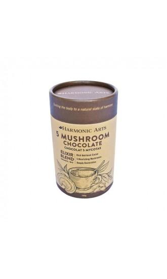Harmonic Arts 5 Mushroom Chocolate Blend, 160 g